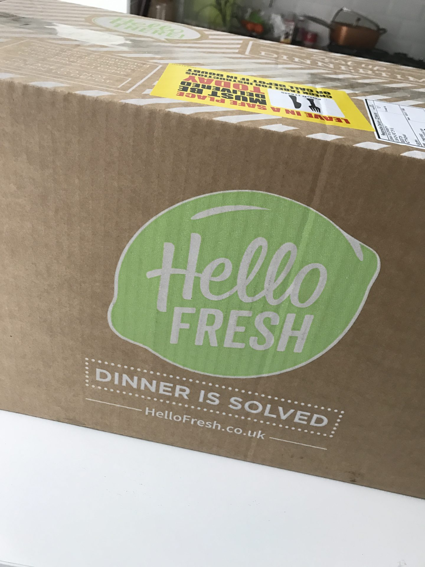 Hello Fresh {a review}
