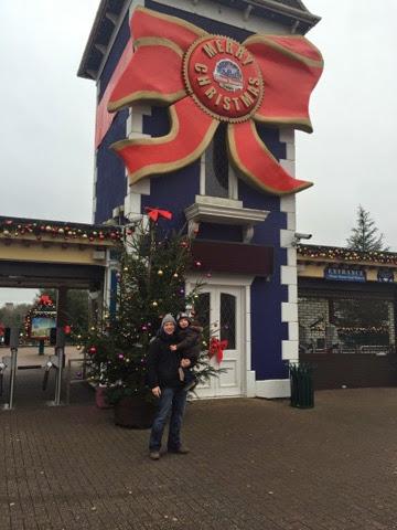 Alton Towers Santa Visit