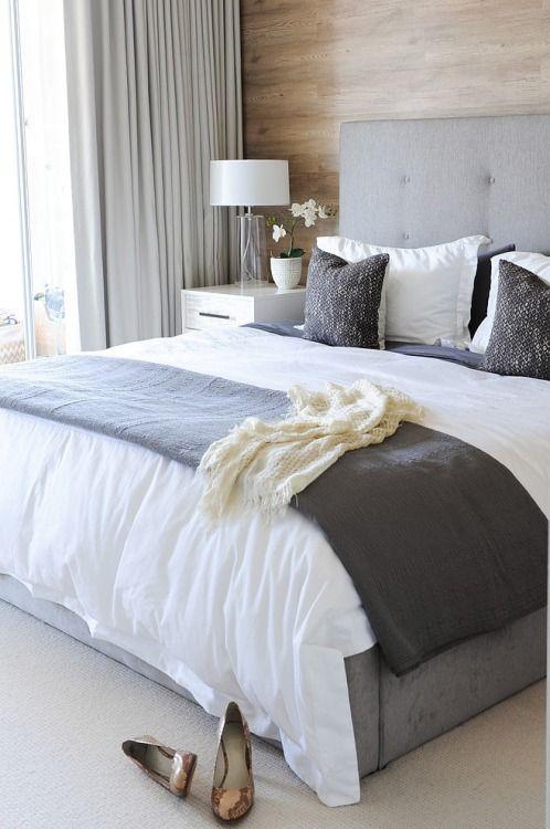 Bedroom makeover inspiration – calming greys