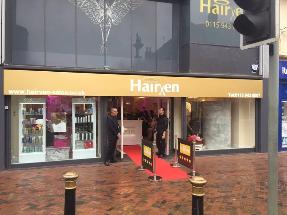 Hairven Beeston launch event