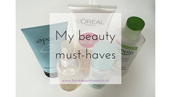 My beauty must-haves