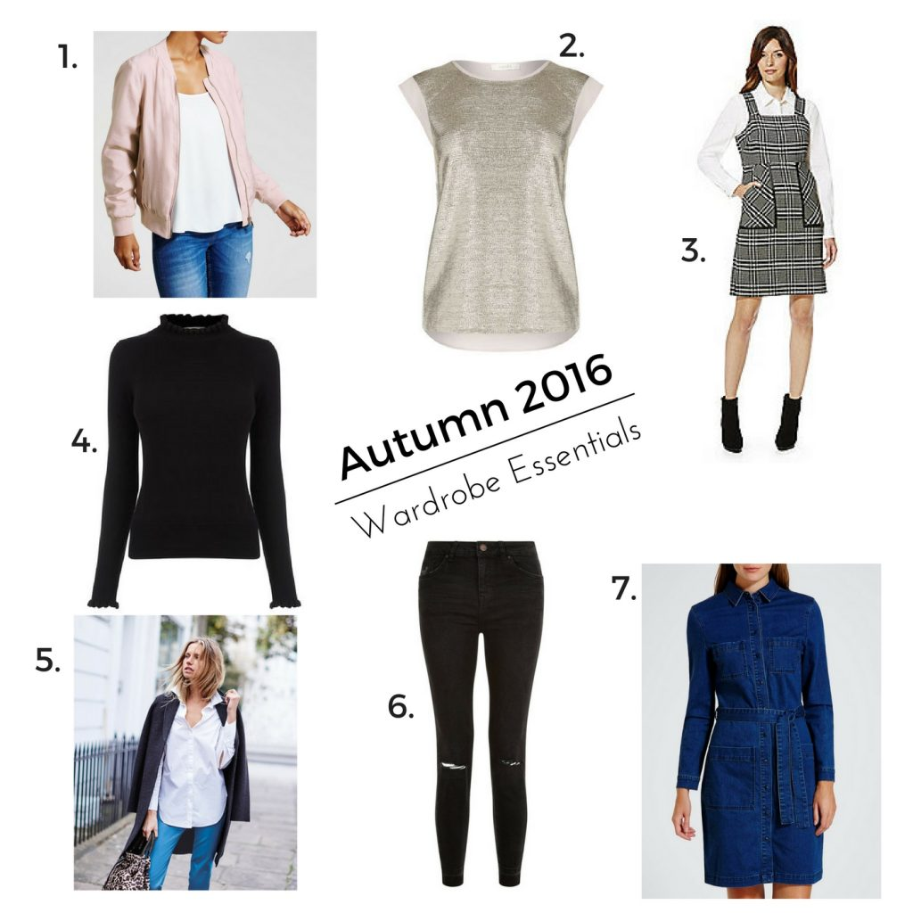 Autumn Fashion – My Top Wardrobe Picks