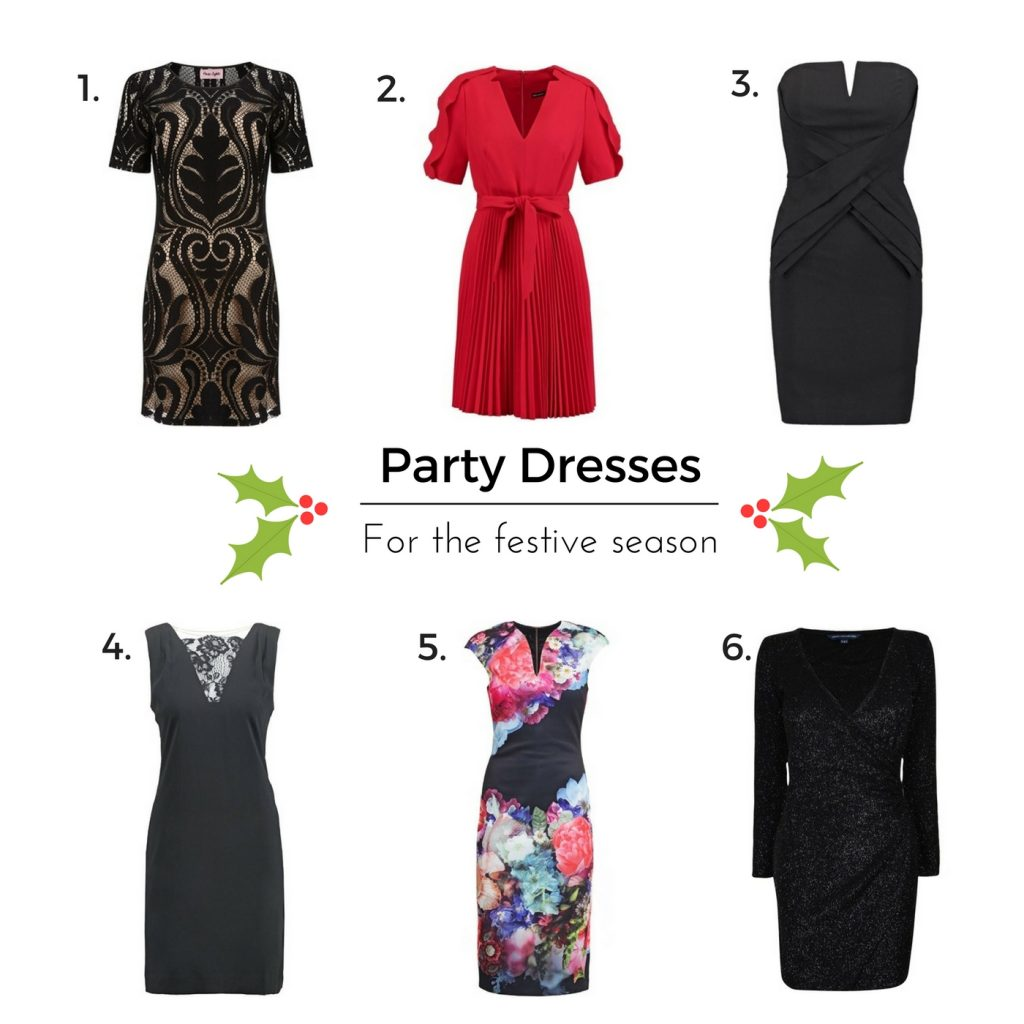 Party Dresses for the Festive Season