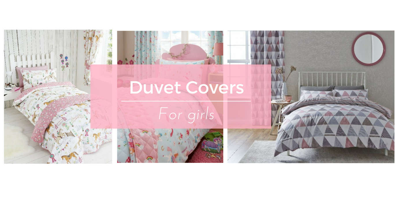 Children's duvet covers for girls