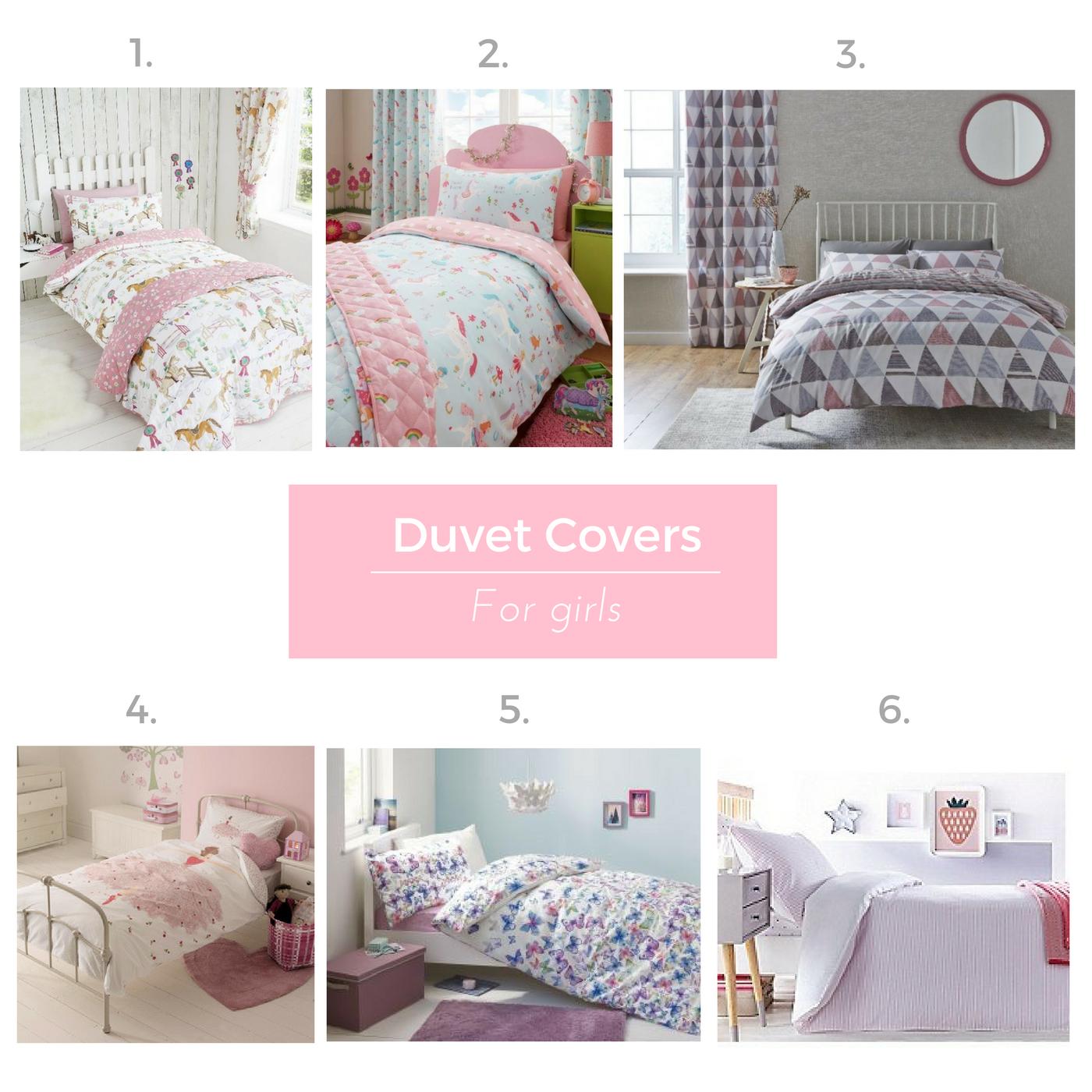 Duvet covers for girls