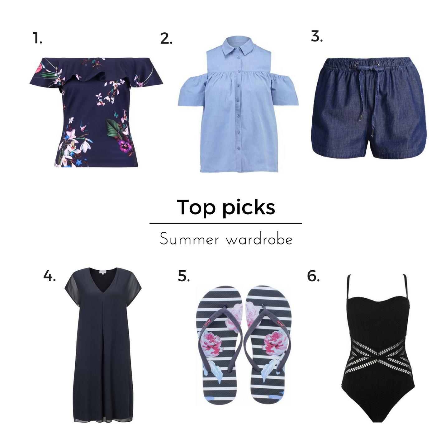 Top summer wardrobe picks