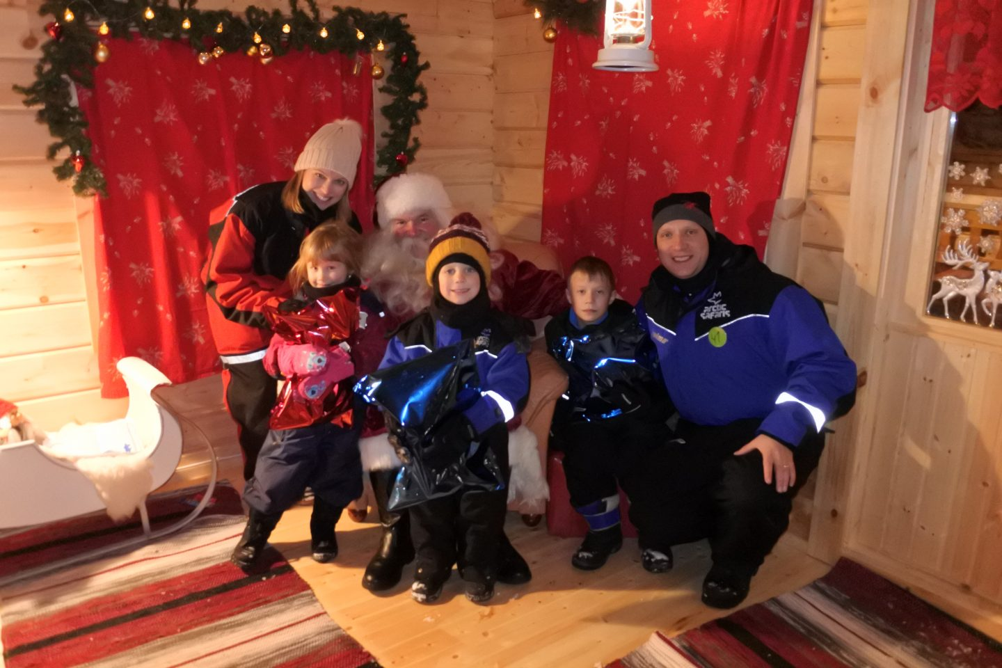 A visit to see Santa in Lapland {including a video}