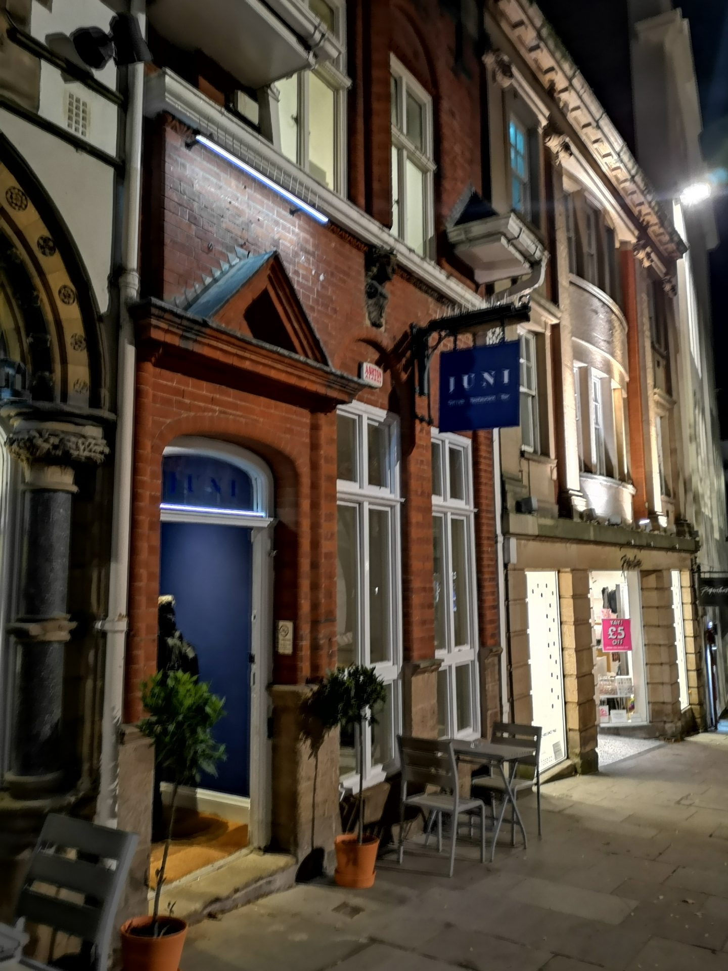Juni Nottingham – launch night