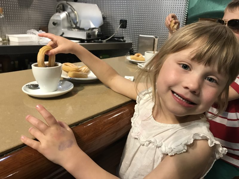 24 hours in Barcelona with kids