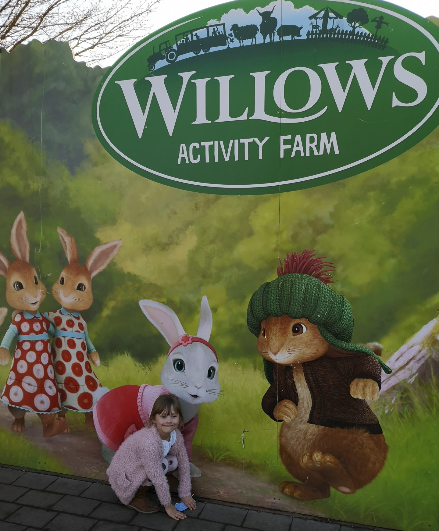 A day with friends at Willows Activity Farm