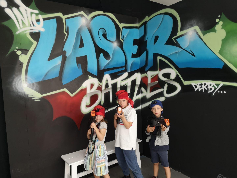 Laser Battles at Intu Derby